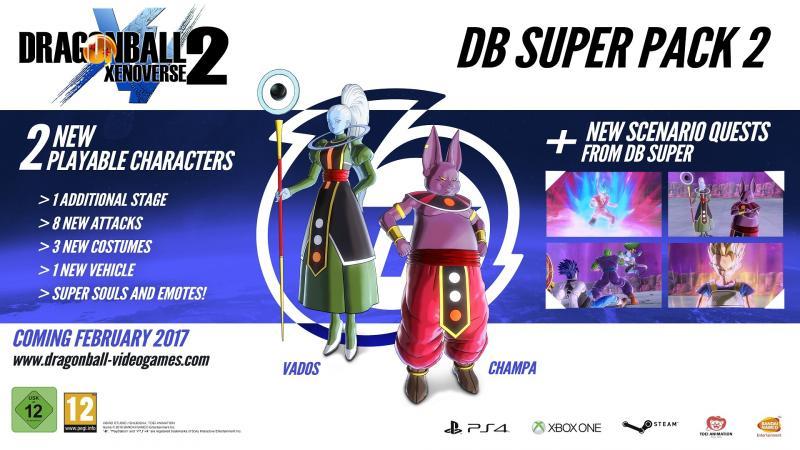 Dragon Ball Xenoverse 2 Super Pack 2 (Foto: Bandai Namco)