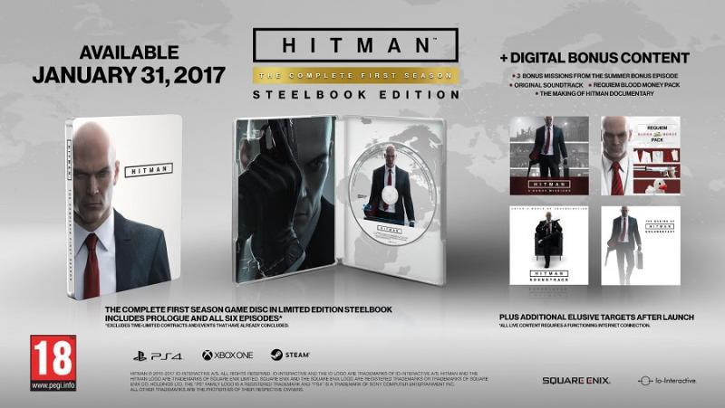 Hitman: Complete First Season Edition (Foto: Square Enix)