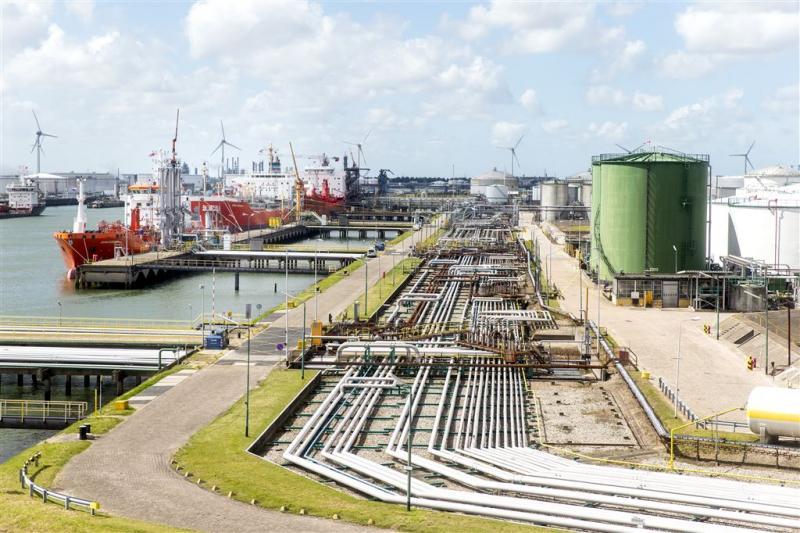 Ontruiming ExxonMobil Botlek na vrijkomen gas