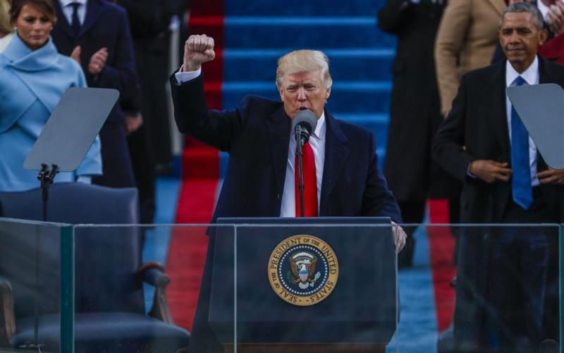 Streamingrecord voor inauguratie Trump