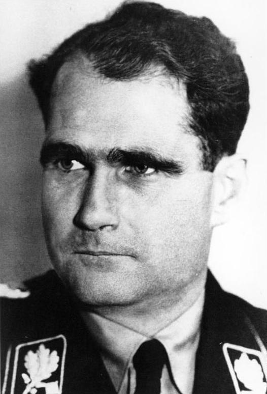 Rudolf Hess (Foto: Bundesarchiv.de)