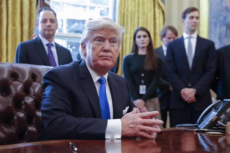 Trump lanceert antimigratiepolitiek