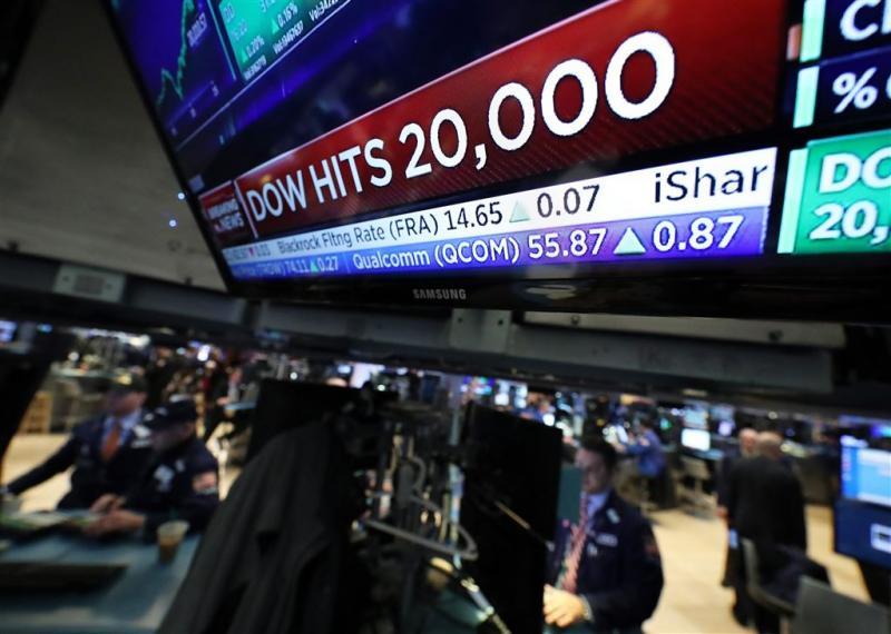 Dow breekt door grens 20.000 punten