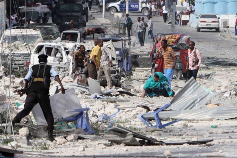 Aanval op hotel in Mogadishu