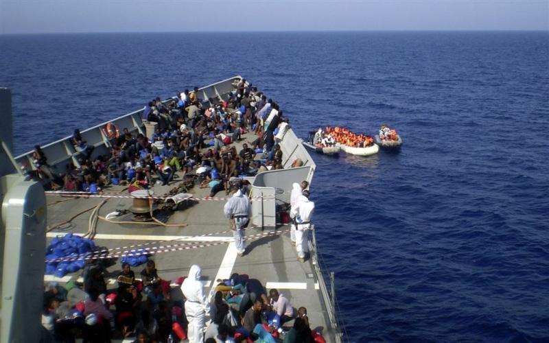 Offensief EU tegen migratie uit Libië