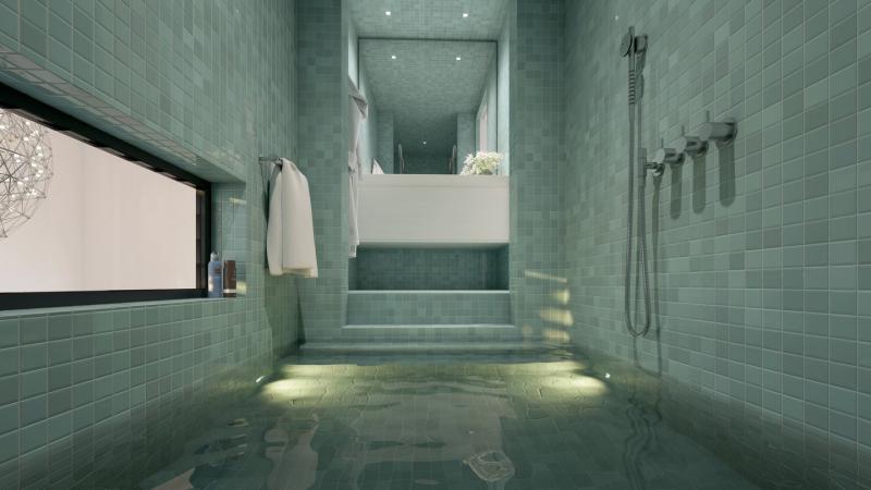 Het Funda-huis: badkamer (Foto: Funda)
