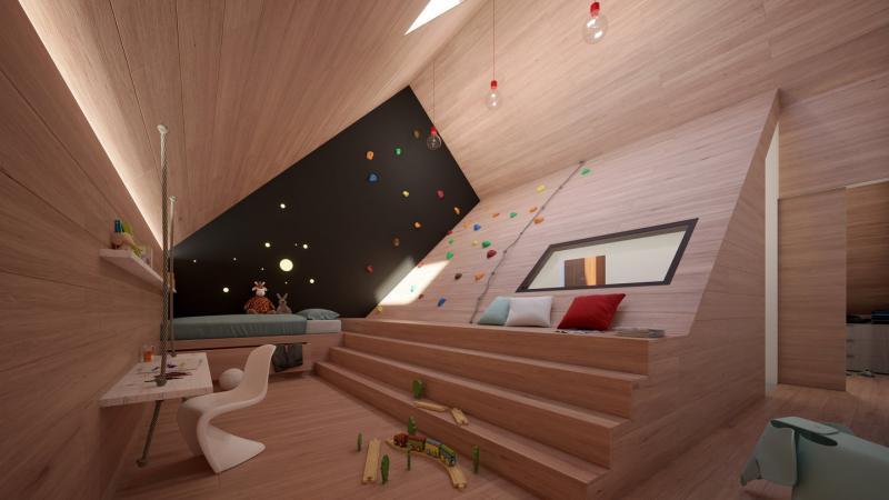 Het Funda-huis: zolder (Foto: Funda)