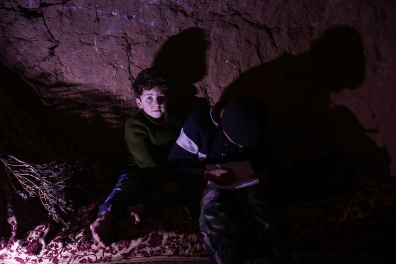 'Israel neemt Syrische weeskinderen op'
