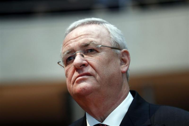 Net sluit zich rond oud-chef VW Winterkorn