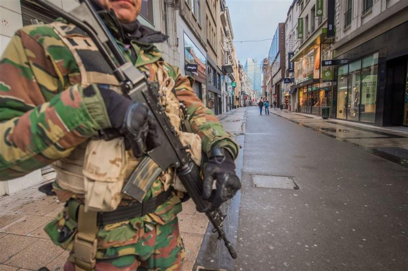 Belgische militairen blijven op straat