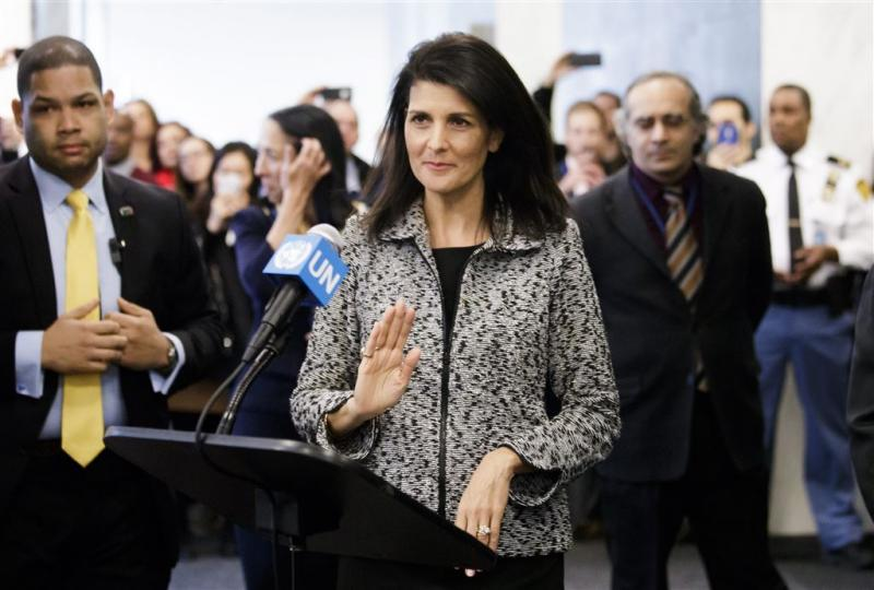Nieuwe VN-gezant VS waarschuwt bondgenoten