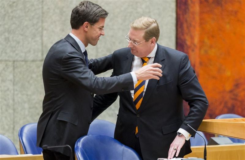 Rutte: besluit Van der Steur kwam van hemzelf