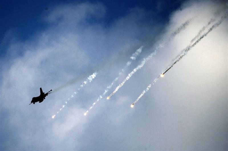 Dit jaar geen Nederlandse F-16's tegen IS