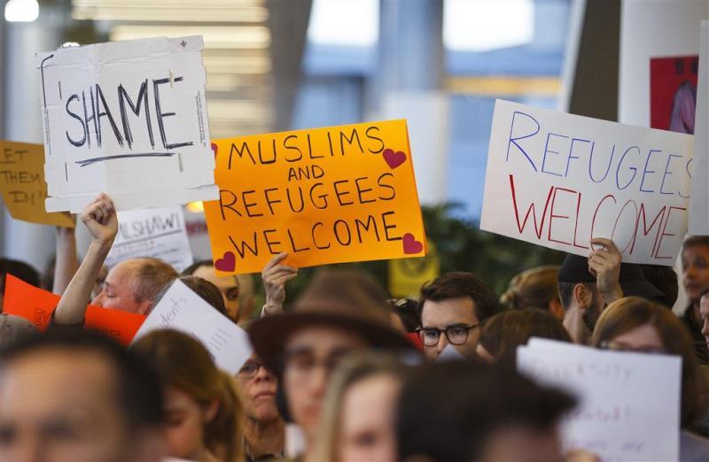 Moslimban Trump maakt sterren woedend
