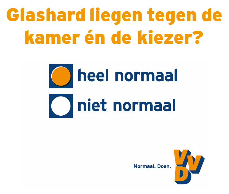 VVD verkiezingsposter 2017