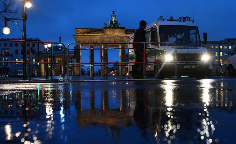 Drie terreurverdachten in Berlijn opgepakt