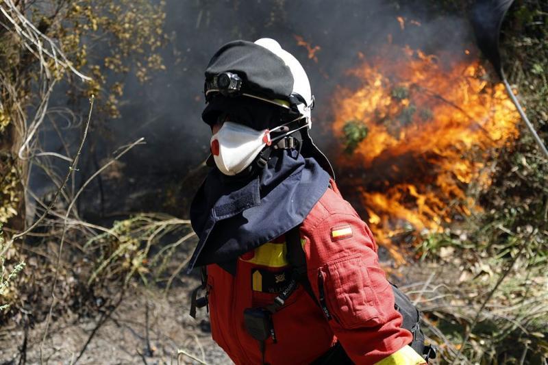 Chili heeft branden onder controle