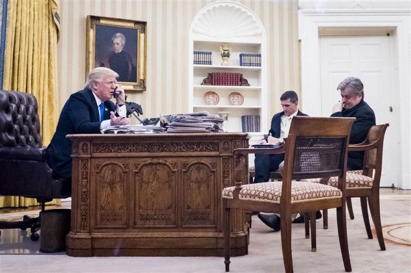 Witte Huis onderzoekt lekken gesprekken Trump