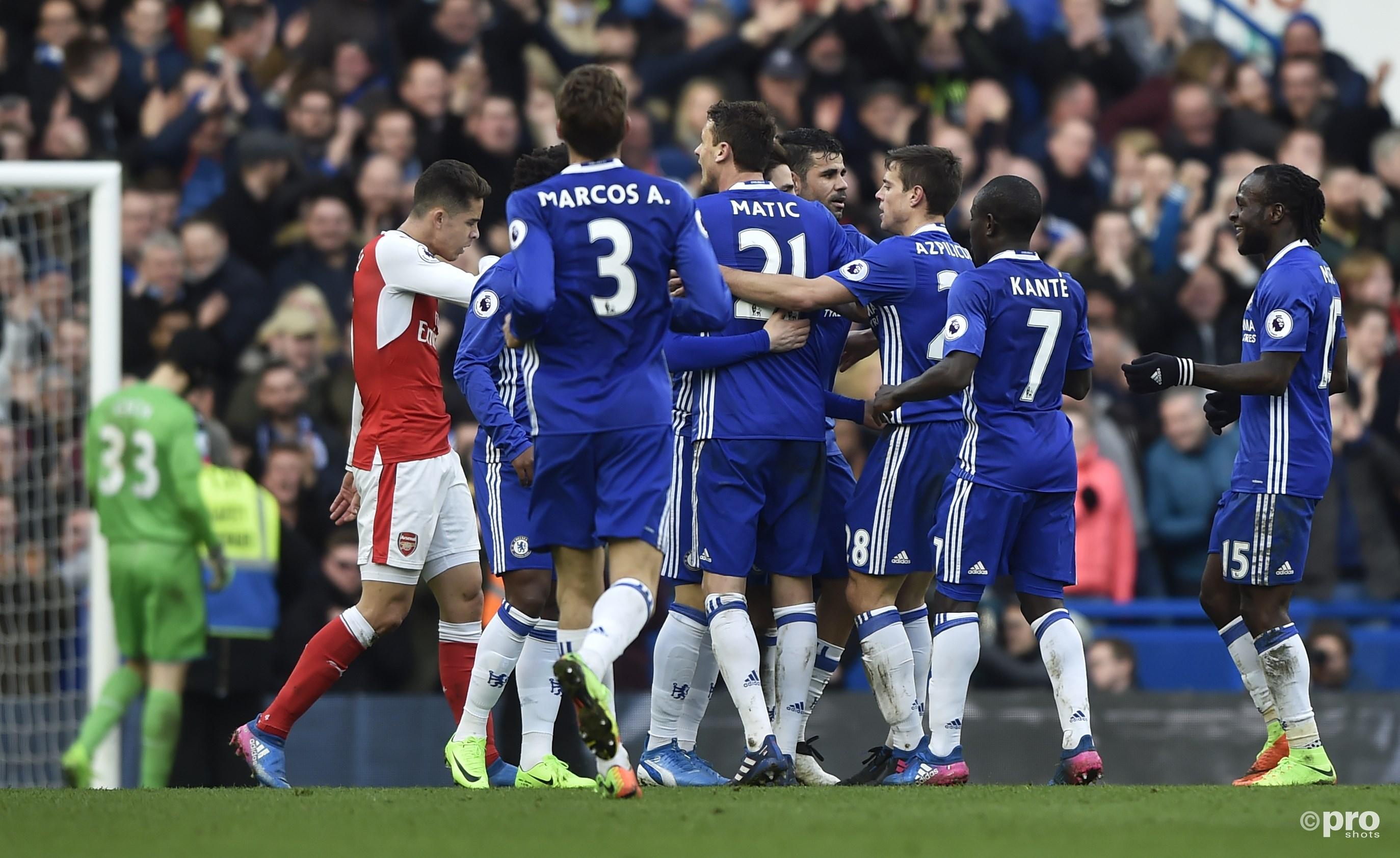 Chelsea op weg naar de titel. (PRO SHOTS/Action Images)