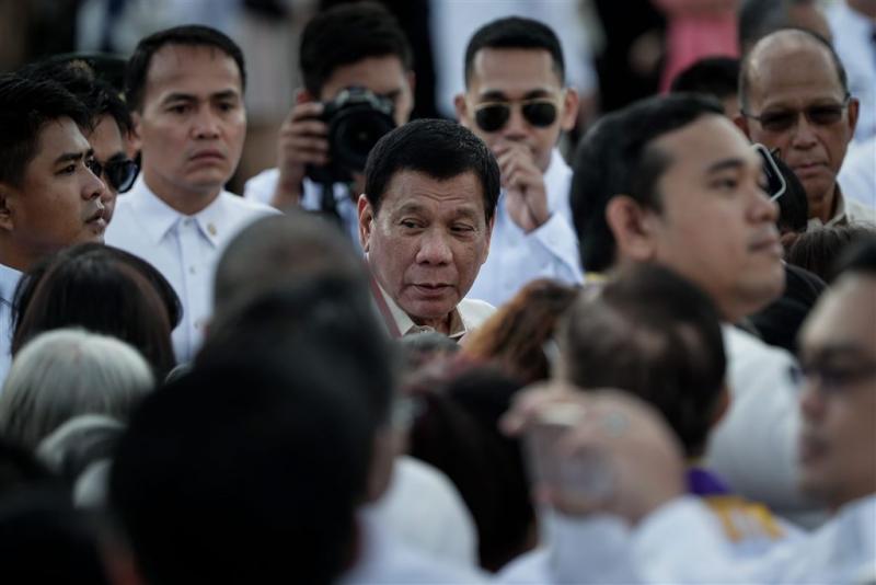 President Filipijnen ruziet met bisschoppen