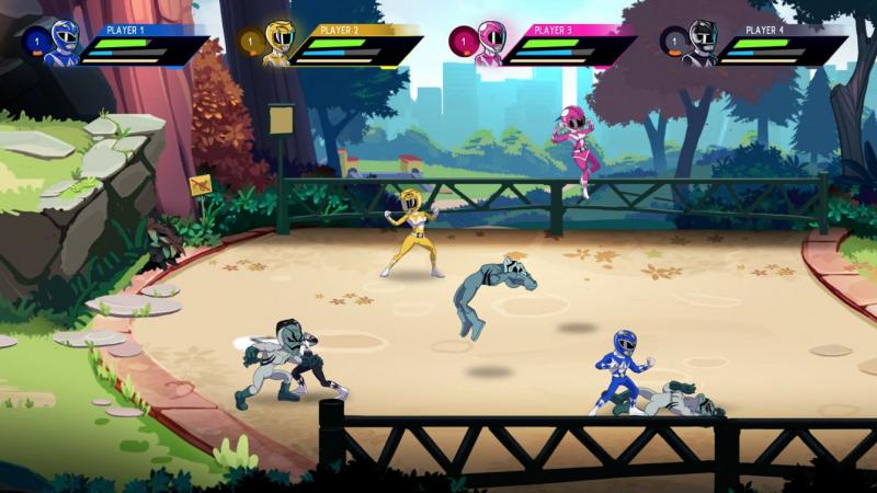 Mighty Morphin Power Rangers Mega Battle (Foto: Bandai Namco)