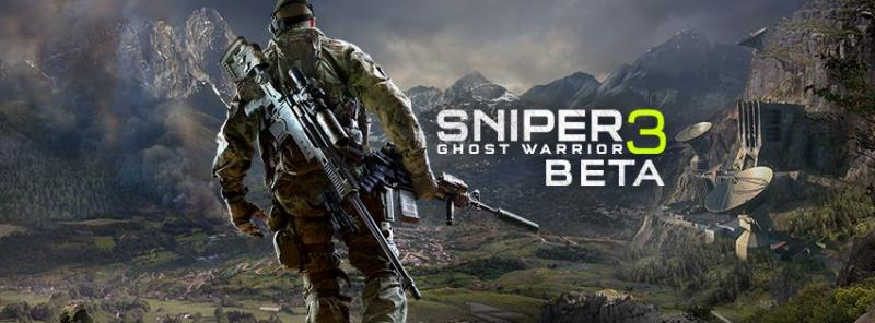 Sniper Ghost Warrior 3 - Beta Banner