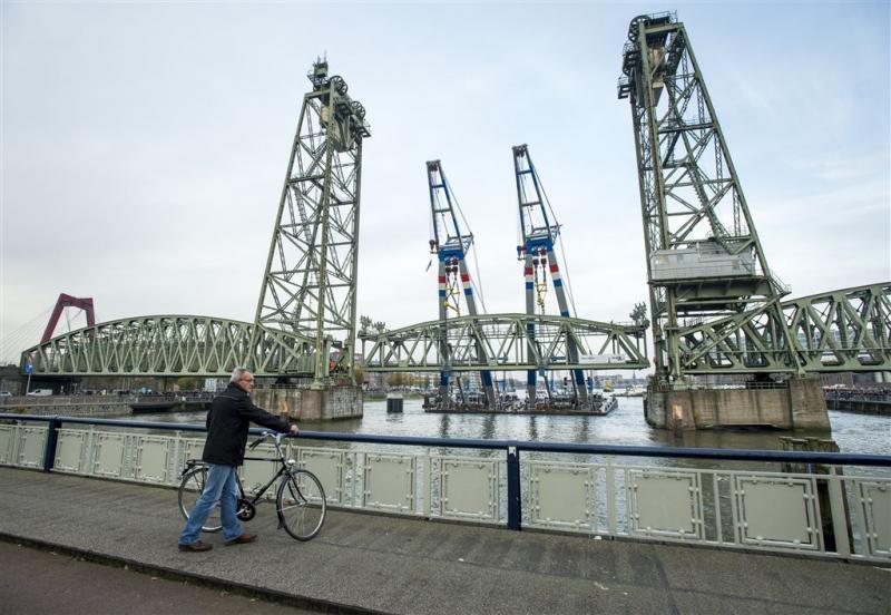 De Hef in Rotterdam weer compleet