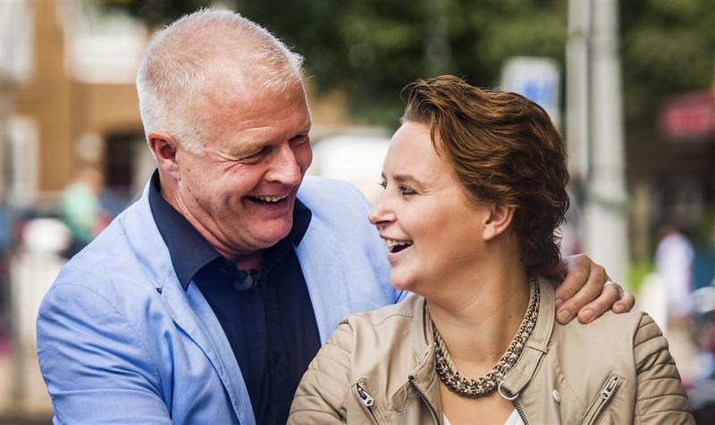 Weinig kijkers voor trouwerij Peter Jan Rens