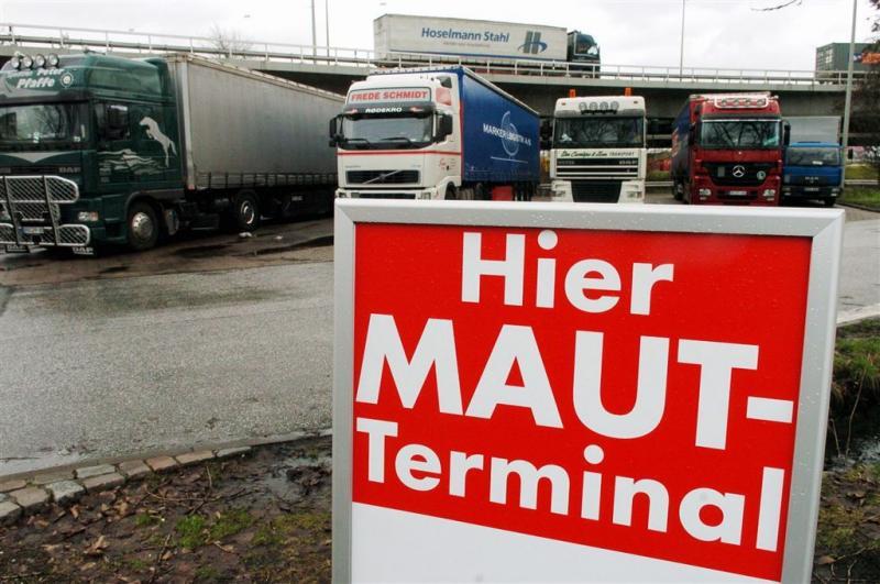 ADAC: Duitse tol wordt verliesgevend
