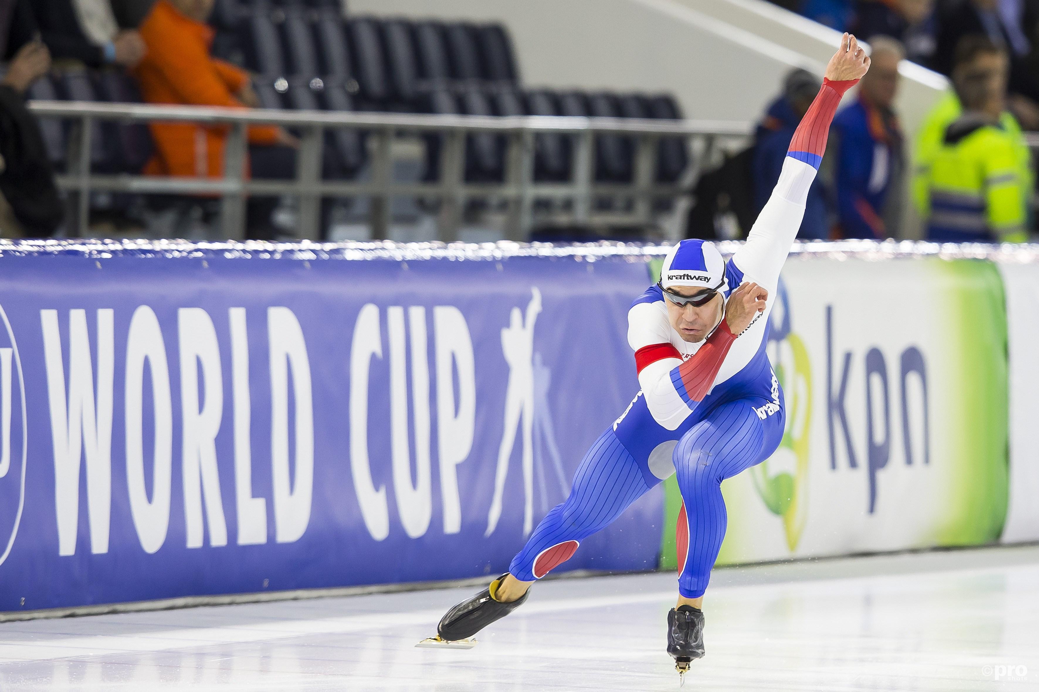 Ruslan Murashov is de grote man op de 500 meter dit seizoen (Pro Shots/Erik Pasman)