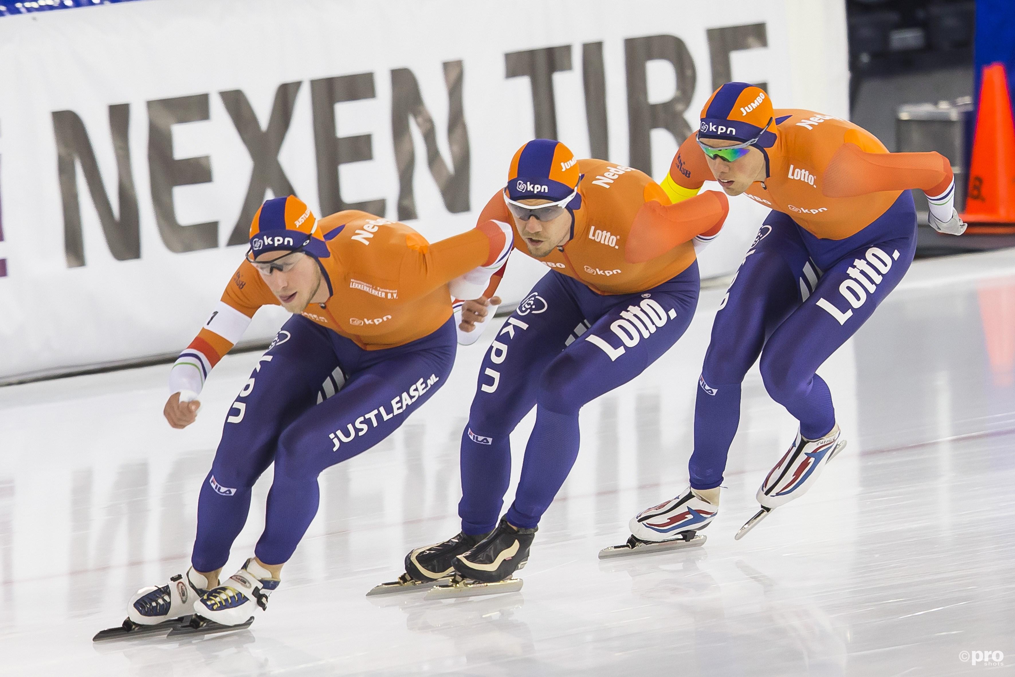 Ook bij de mannen is Nederland de grote favoriet op goud (Pro Shots/Erik Pasman)