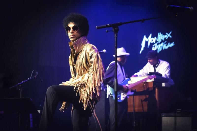 Prince zondag op Spotify
