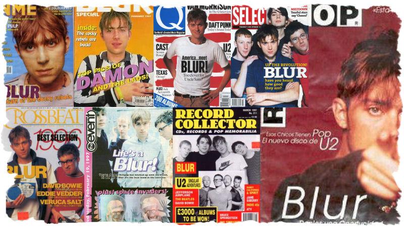 Blur in de media in 1997