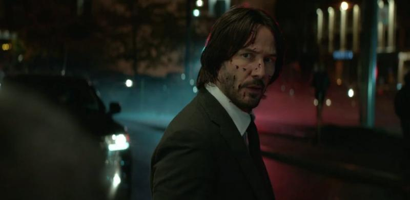 John Wick: Chapter Two Bloody Keanu