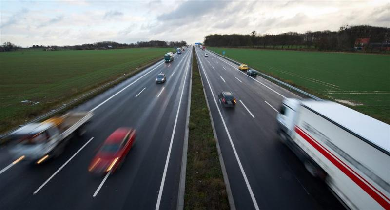 Automobilist voorkomt met stunt ongeval