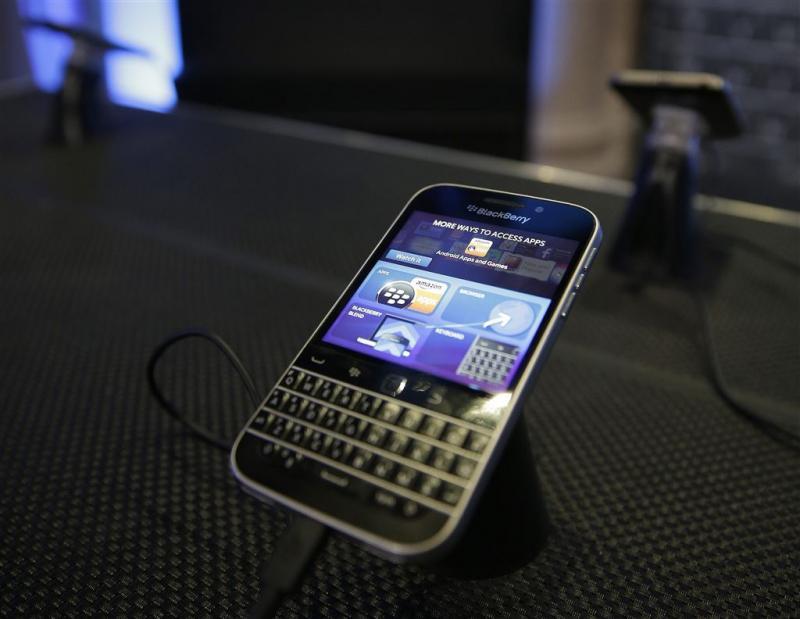 BlackBerry heeft 0 procent marktaandeel