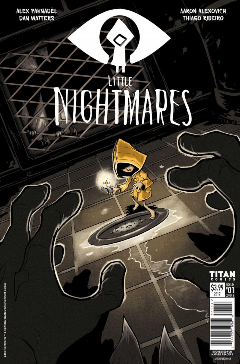 Little Nightmares stripboek