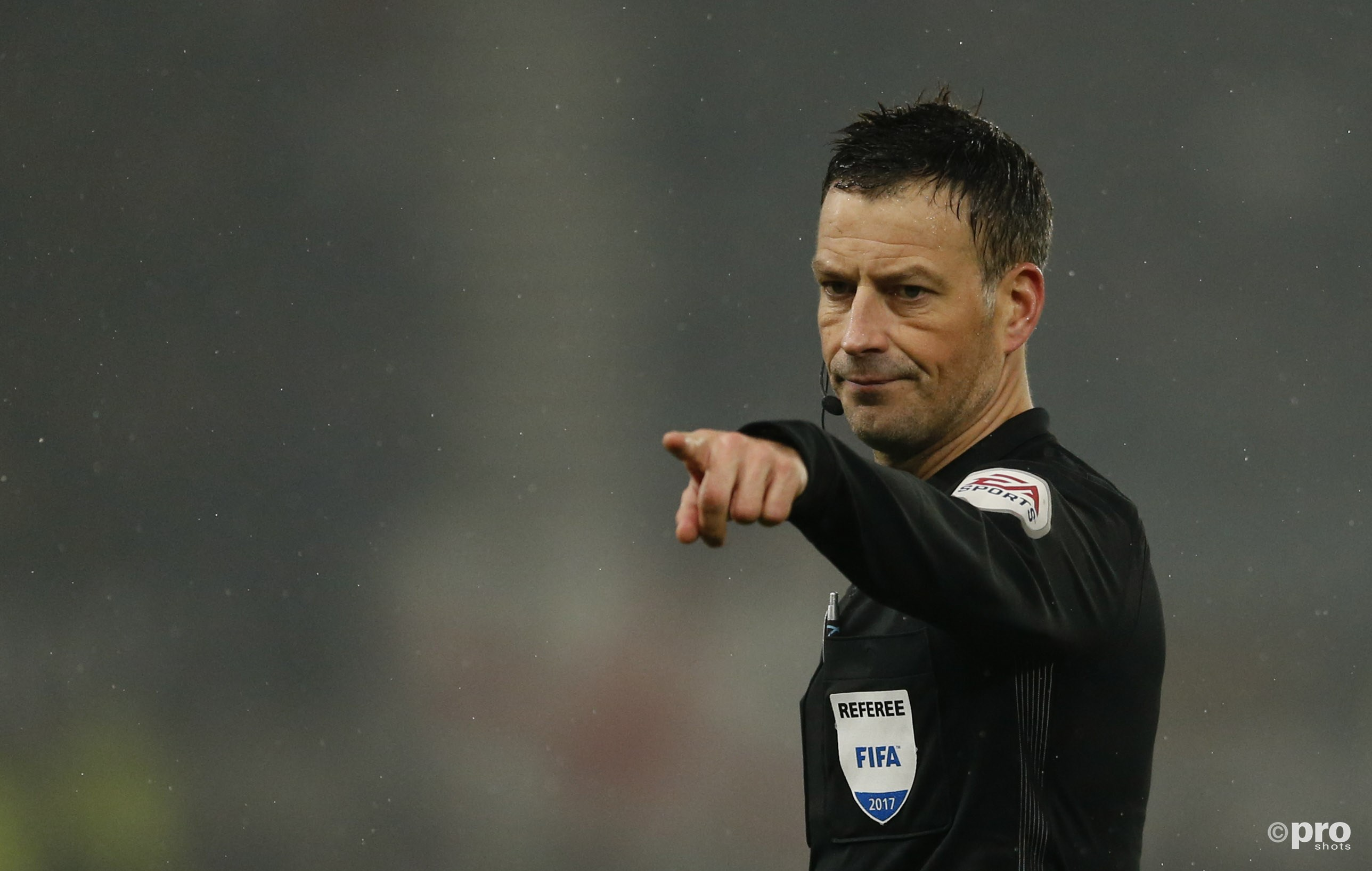 Mark Clattenburg vertrekt naar Saudi-Arabië. (PRO SHOTS/Action Images)