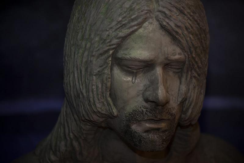 Dochter feliciteert Cobain met verjaardag