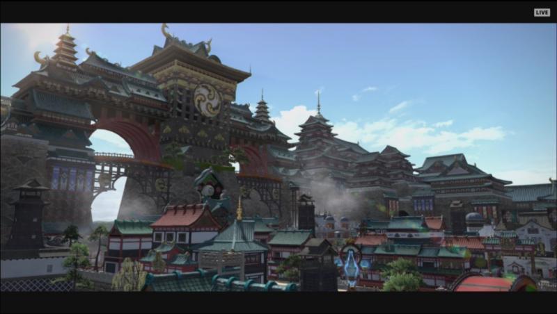 Final Fantasy XIV: Stormblood - Kugane (Foto: Square Enix)