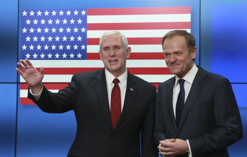Pence: VS willen sterke relatie met EU