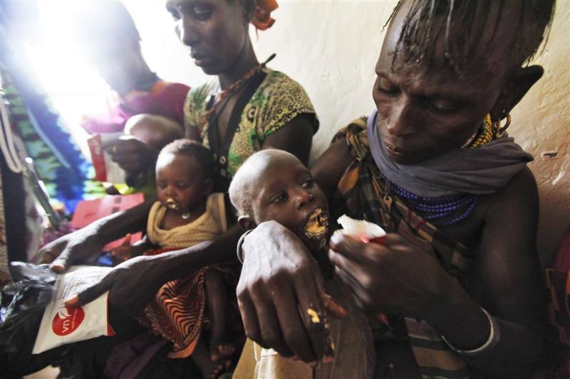 Hongersnood in delen van Zuid-Soedan