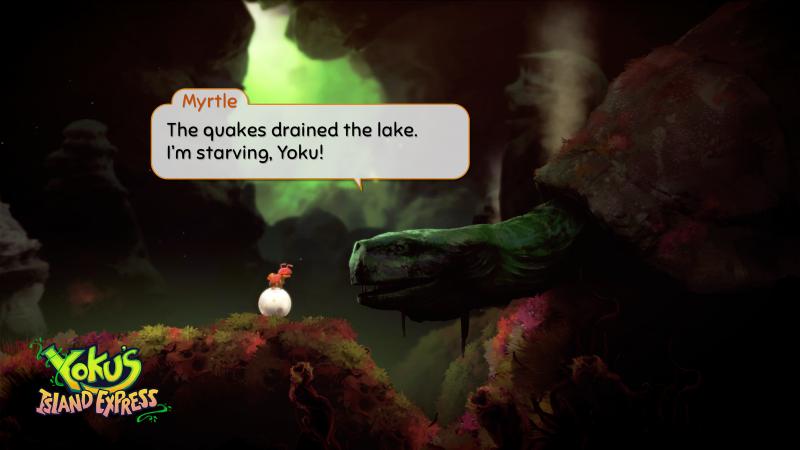 Yoku's Island Express - Zijmissie