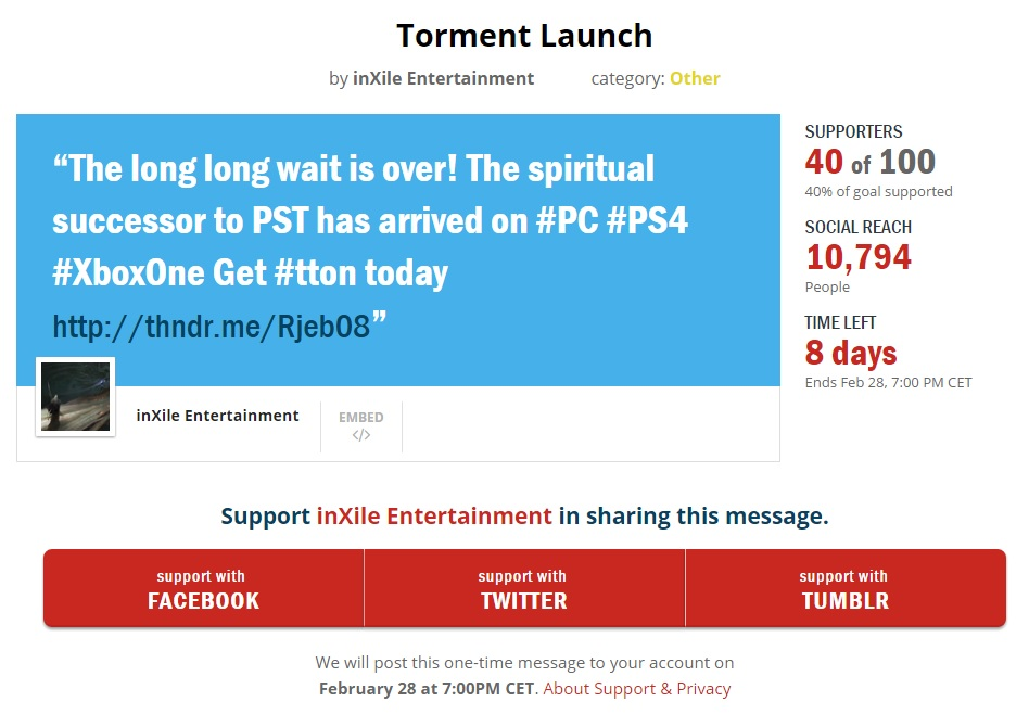 Torment Thunderclap