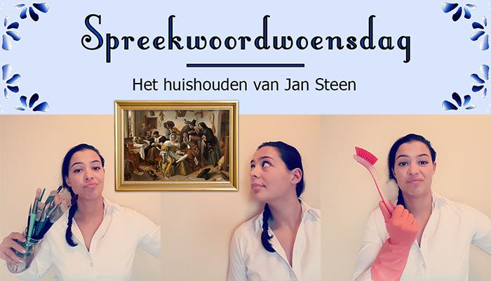 Een huishouden van Jan Steen (Foto: LeoLucy)