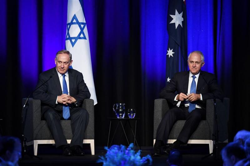 Australië pal achter Netanyahu