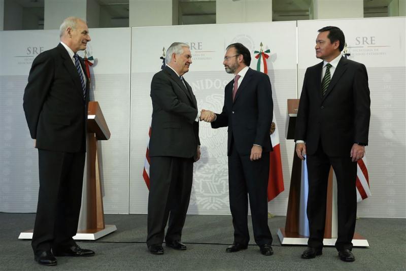Mexico geïrriteerd door migratiebeleid VS