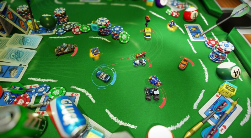 Micro Machines World Series (Foto: Codemasters)