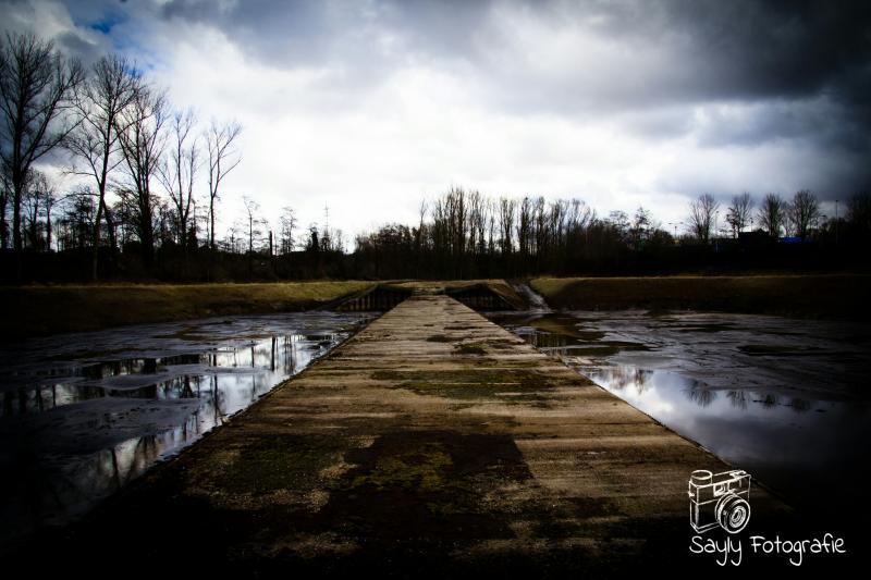 Foto van de Overkluisde Caumerbeek bij heerlen (Foto: Luuntje)