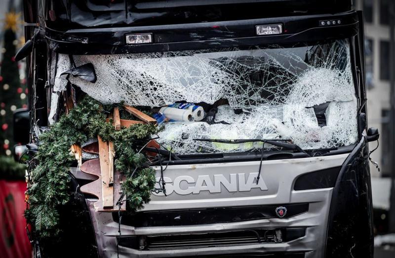 Transporteur wil truck aanslag Berlijn terug